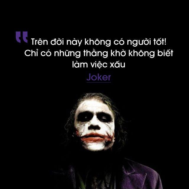 những câu nói bất hủ của joker