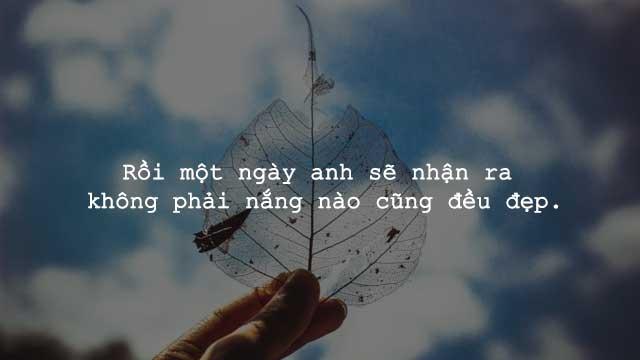 những câu nói bất hủ về tình yêu buồn